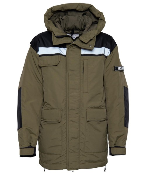 REFLECTOR NYRON LONG DOWN JACKET[REJ050]