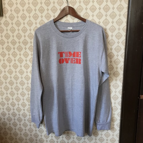 TIME OVER  long sleeve T-shirts