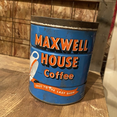 Vintage tin can [MAXWELL HOUSE COFFEE ]