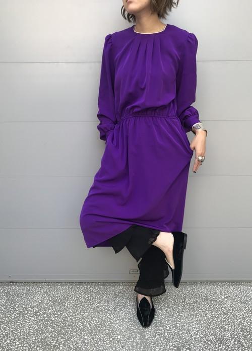 Vintage purple dress (ヴィンテージ パープル ドレス)