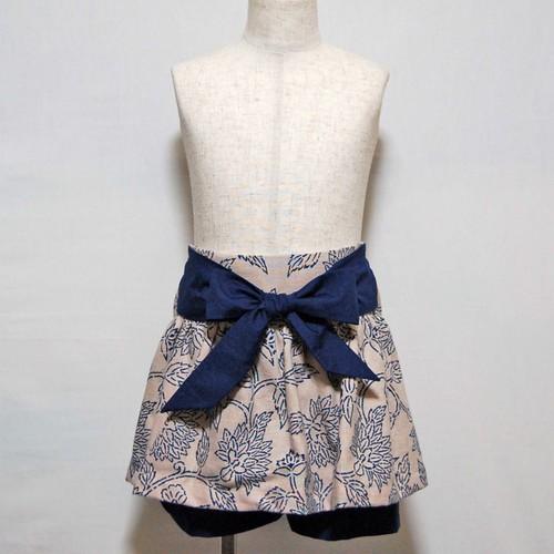 スカートパンツ_BLUE