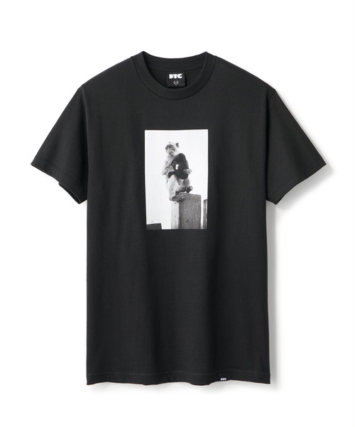 FTC / MONKEY TEE -BLACK-