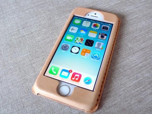 【受注制作】iPhoneケース《5/5S/SE専用》|ナチュラル