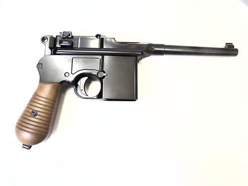AW モーゼル M712 フェイクストック付  セミ・フルオート ガスブローバック