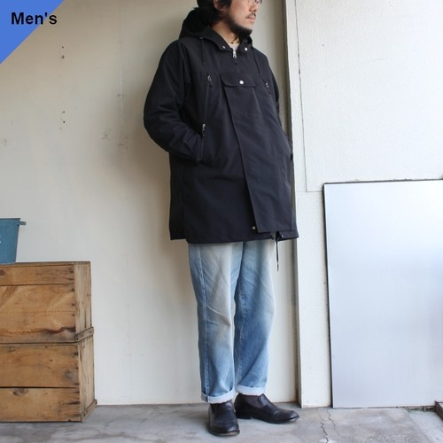 ENDS and MEANS フィールドハーフパーカ Field Half Coat EM201J001 (Black)