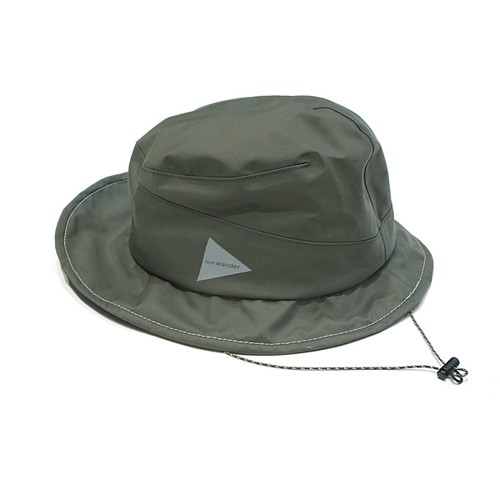 【and wander】rain hat