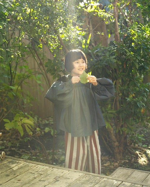 folk made フォルクメイド boa gather blouse size:F(Ladies)