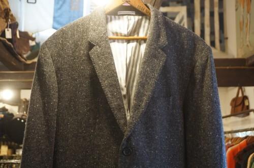 CLUB MONACO gray tweed Jacket
