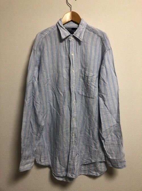2000's Polo by Ralph Lauren linen shirt