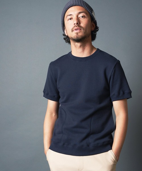 URAKE SIDE POCKET CREWNECK SHORTSLEEVE