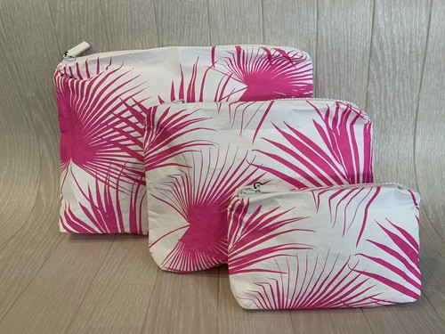 ALOHA  Collection 「DAY PALMS」Small  Pouch
