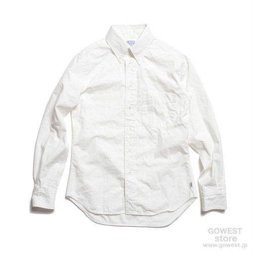 GOWEST-SLIM FIT BD SHIRTS/SALLOR CLOTH SELVEDGE