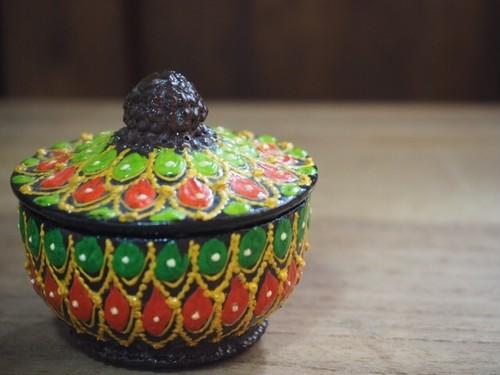 木製 タイ香合