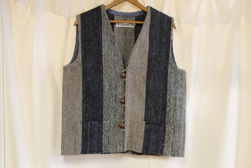 OAXACA ISSAC VASQUES / RUG VEST SIMPLE STRIPE