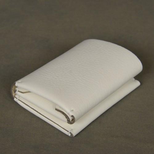 三つ折り財布 イタリア製オイルタンニン