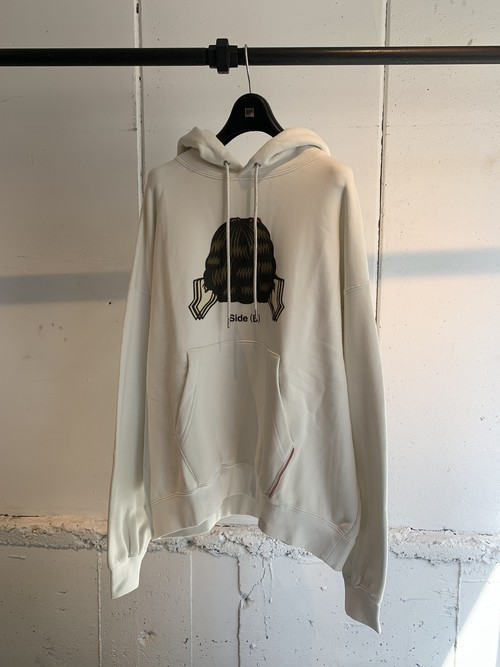 NEONSIGN   SWITCH SNOW WHITE HOODIE