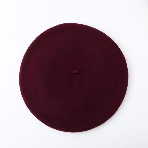 バスク帽 D-RED(サイズ12 / 13.5) TDB-04