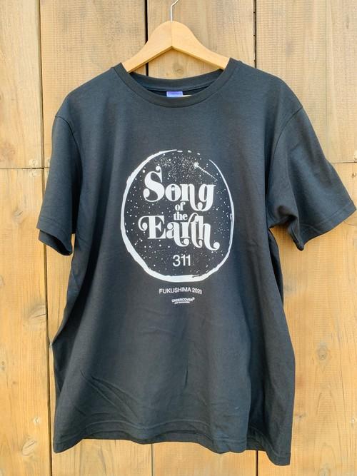 SOTE311-FUKUSHIMA-2020 BLACK T-shirt   アーティスト名あり