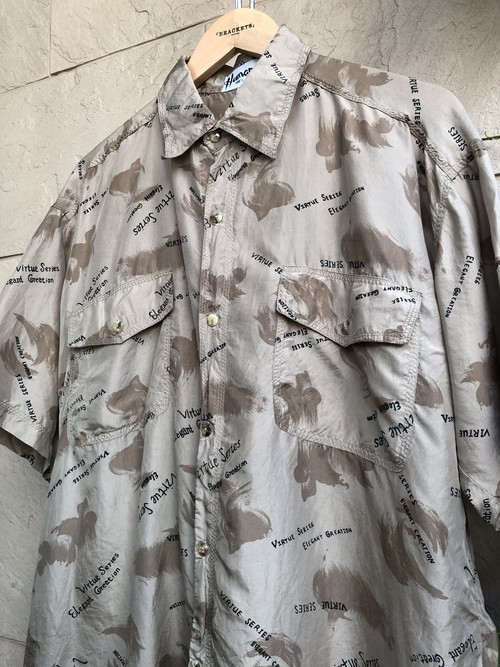 Old S/S silk shirts