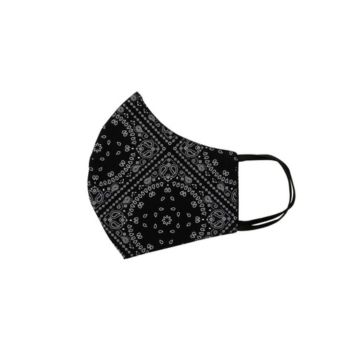 Relco London | Mask - Black Bandana print