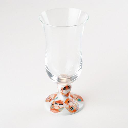 九谷和グラス(冷酒グラス) 七福神
