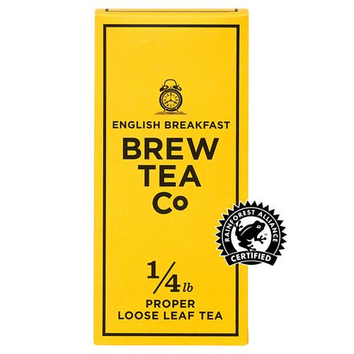 BREW TEA Co. ブリューティーカンパニー leaf tea 茶葉 113g 箱入り English Breakfast イングリッシュ ブレックファースト