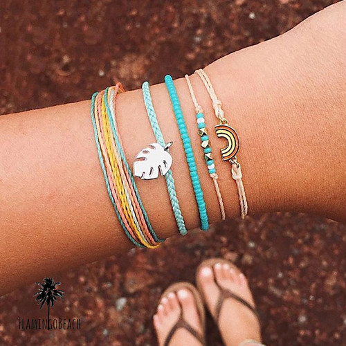 【FlamingoBeach】 bracelet set ブレスレット 64108