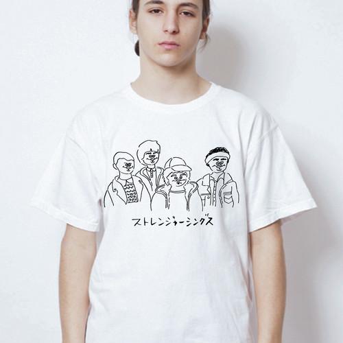 【受注専用】ストレンジャー〇ングスTシャツ【Megumi Yamazaki】