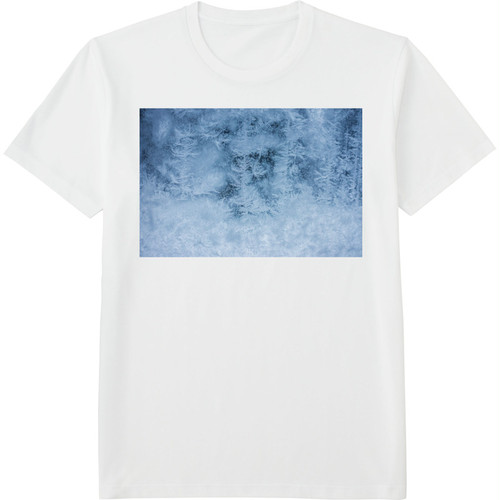 19.Finland100 Tシャツ / 窓の結晶
