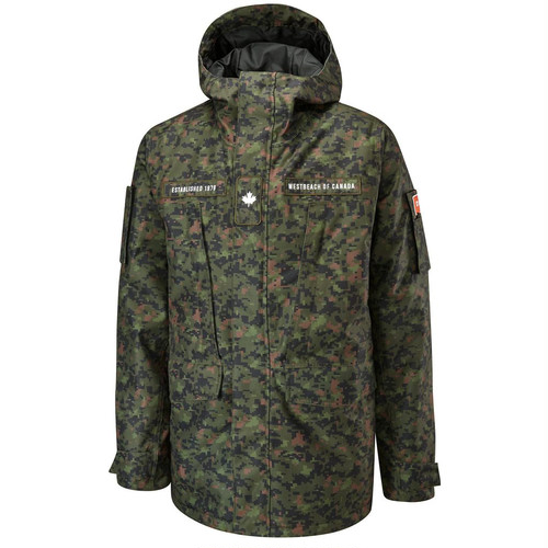 Regiment Jacket Forces Camo