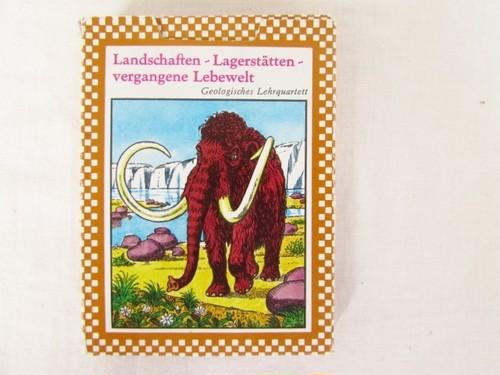 DDR(旧東ドイツ)のカードゲーム 景色・埋蔵物・過ぎ行く生きた世界Landschaften Lagerstätten vergangene Lebewelt 景色・埋蔵物・過ぎ行く生きた世界