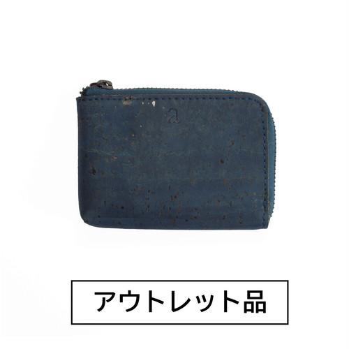 【アウトレット】コインケース ブルー 【50%OFF】