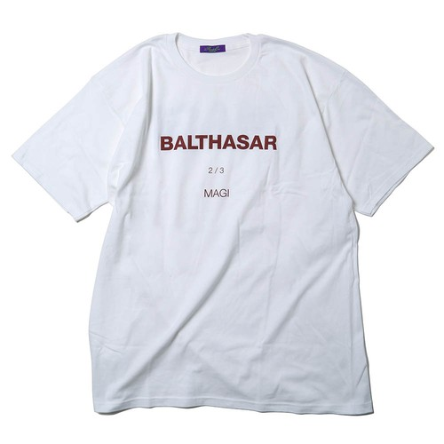 MAGI SYSTEM BIG T-Shirt (BALTHASAR(ホワイト))  / RADIO EVA