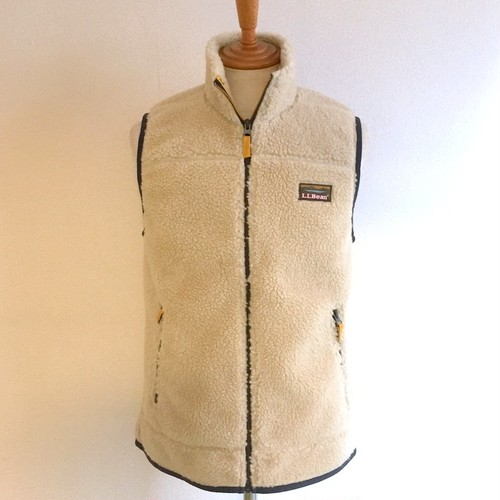 Mountain Pile Fleece Vest Natural