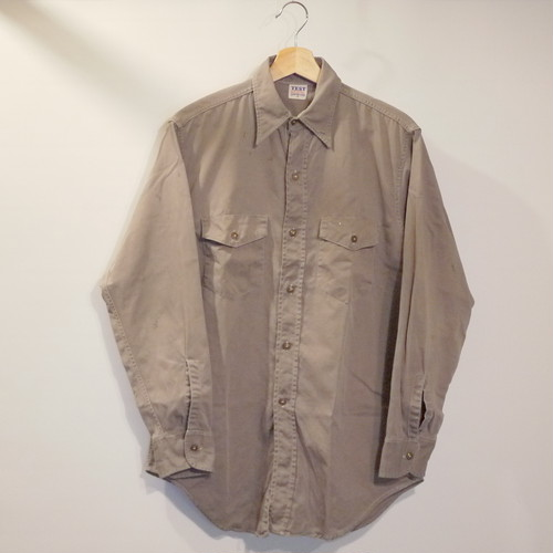 TEST 1960's Work Shirt Size15 ②