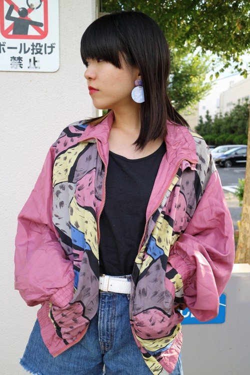 Sweet animal blouson