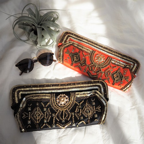 Beads Clutch《2COLORS》