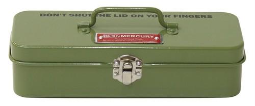 マーキュリーブリキミニツールボックス
