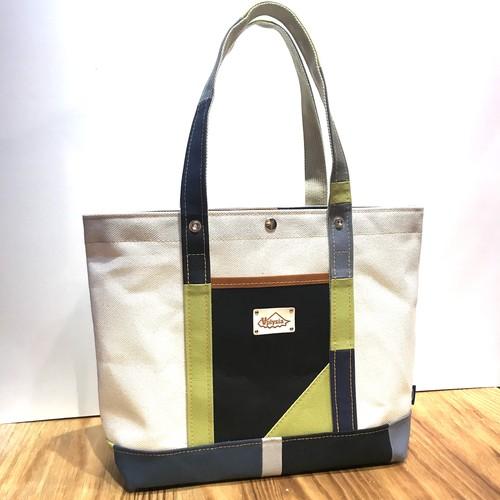 倉敷帆布のトートバックL Saunta tote WIDE Special