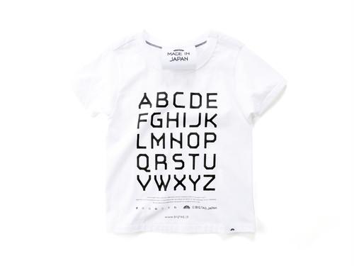 T-shirt[big tag font / alphabet]