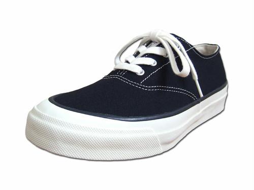 【レディース】 Asahi アサヒシューズ DECK デッキシューズ L011 BLACK キャンバス Shoes MadeinJAPAN 日本製 福岡 久留米
