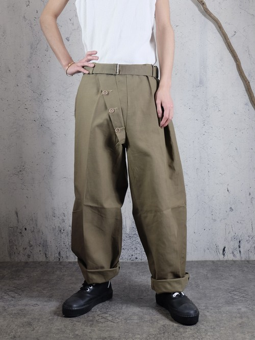 military rubberised pants
