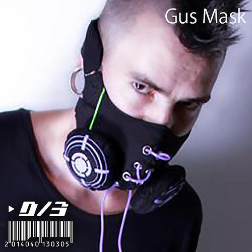 D/3 『サイバー ガスマスク』黒 (CYBER GASMASK)