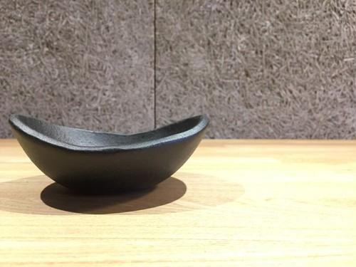 信楽焼 楕円鉢 小(とび茶)