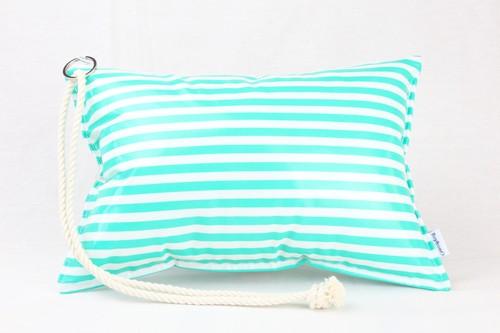 [Pillow Bag]Border Green