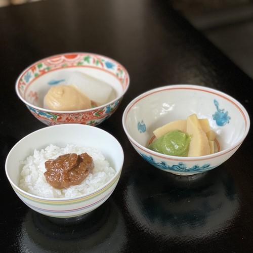 炊き味噌三点セット(フキノトウ、木の芽、柚子)