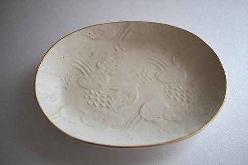 前田葉子| オバール皿(小)
