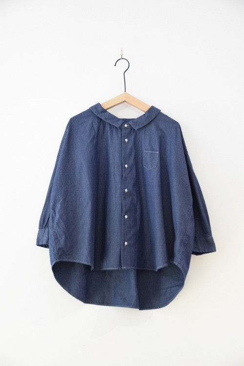 【ORDINARY FITS】 BARBER SHIRT/OF-S019