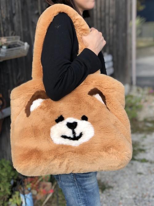 【サーカスサーカス 】Toy Bear Fur Carry Bag トイ・ベアー・ファー・キャリーバッグ