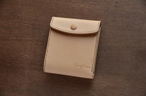 二つ折り財布 フルサイズ プレーン革(染め無し)